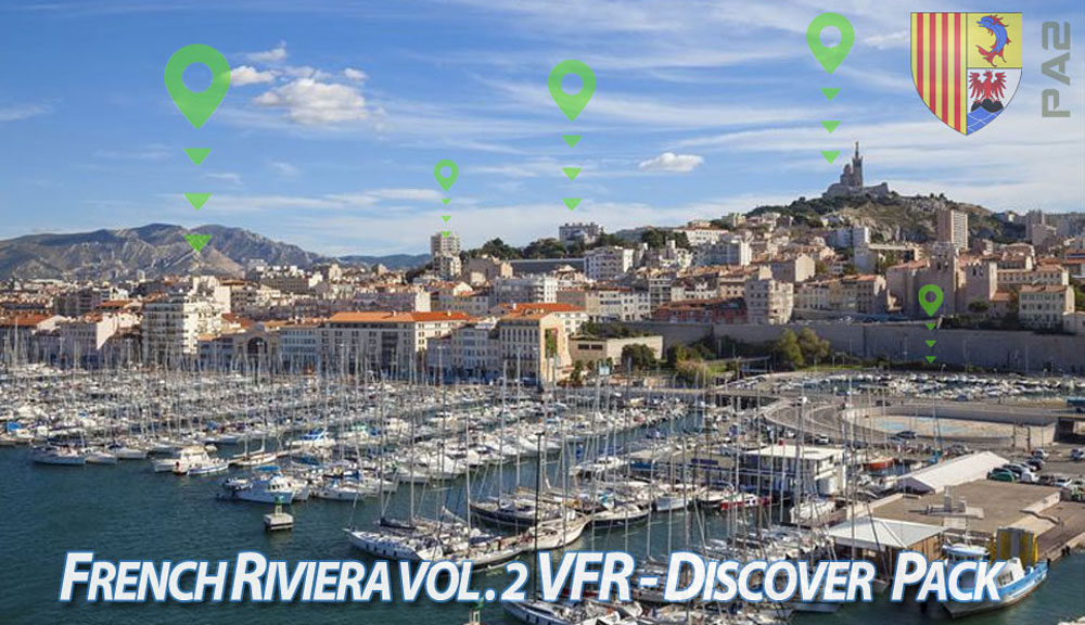 French Riviera VFR Vol. 2 - Discover Pack P3D