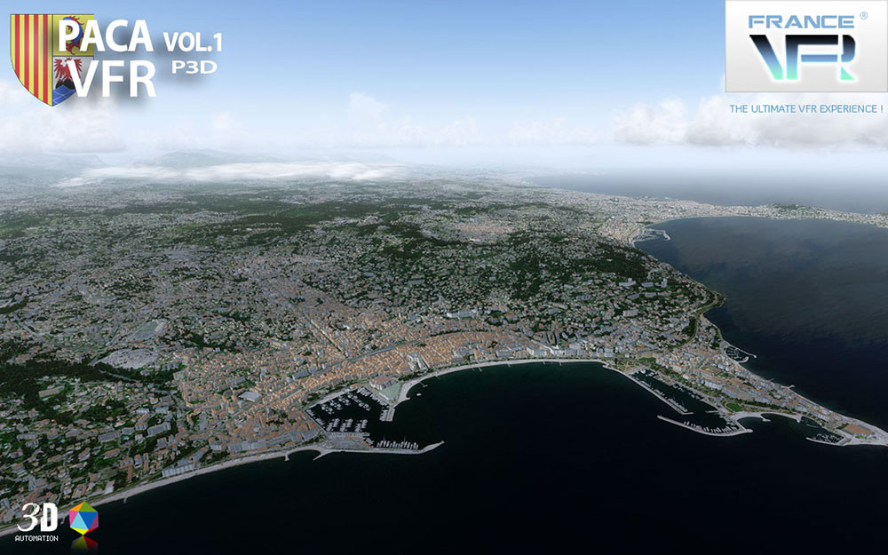 VFR Regional - French Riviera Vol.1 P3D V4
