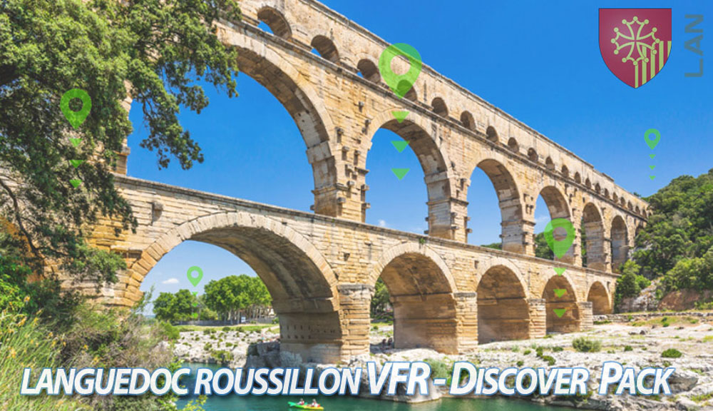 Languedoc-Roussillon VFR - Discover Pack P3D
