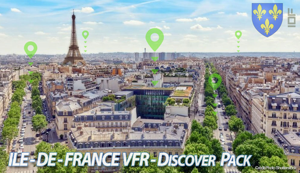 Paris-Ile de France VFR - Discover Pack P3D