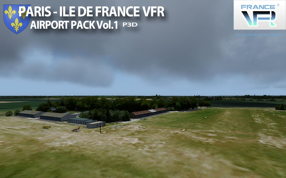 Paris-Ile de France VFR - Airport Pack Vol. 1 - P3D V4