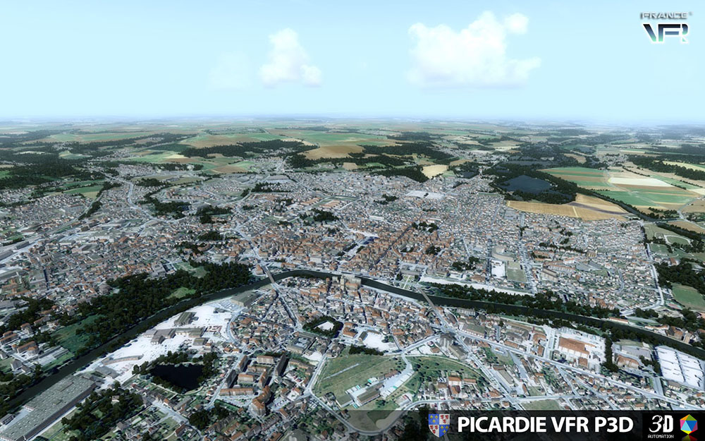 Picardie VFR for P3D