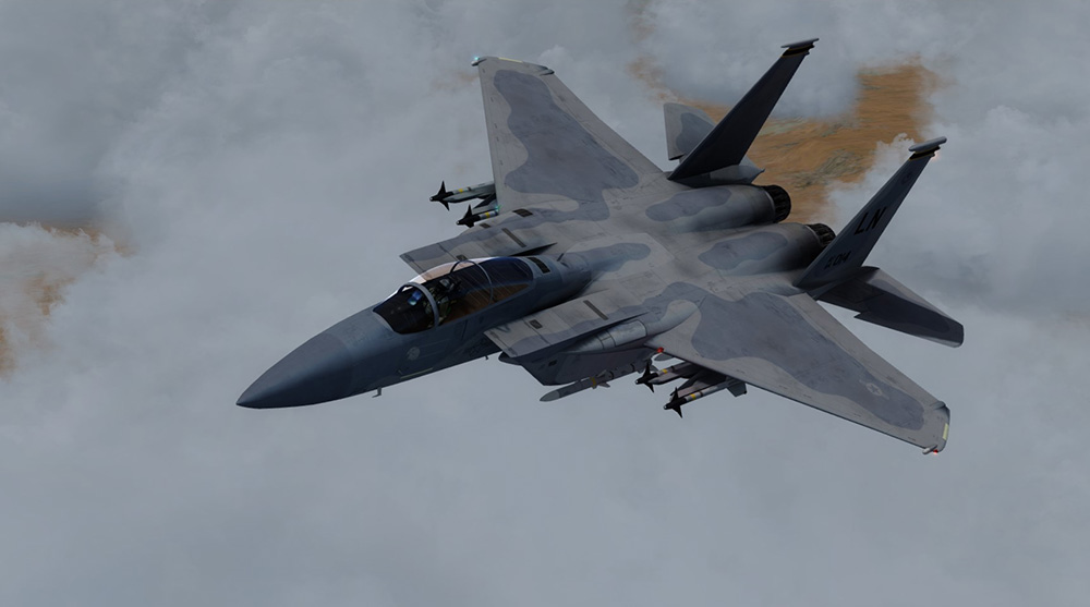 DC Designs F-15 C, E & I Eagle for P3D V4/V5