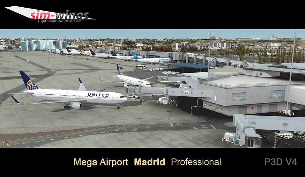 Mega Airport Madrid professional | Aerosoft Shop