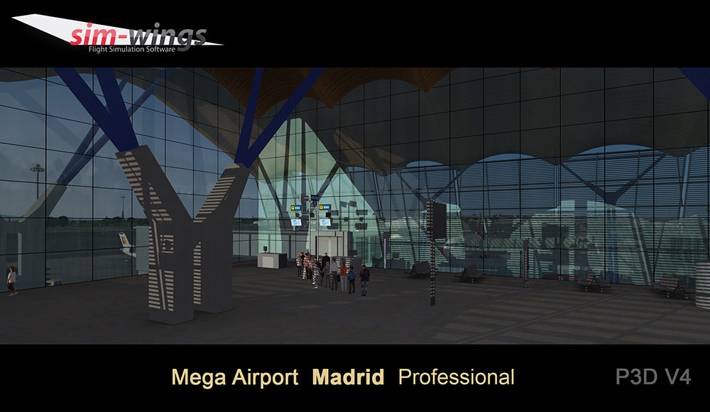 Mega Airport Madrid professional