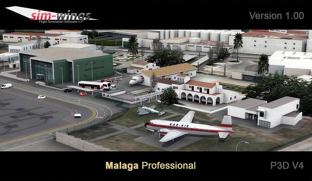 Malaga professional | Aerosoft Shop