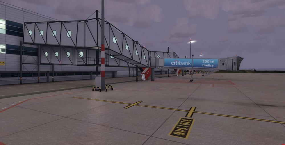 Mega Airport Prague P3D V4