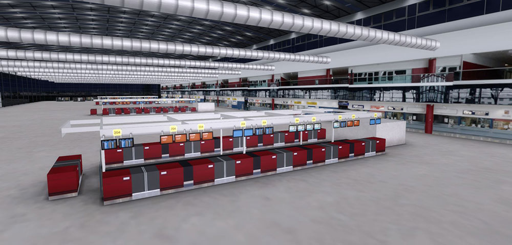 Mega Airport Prague P3D