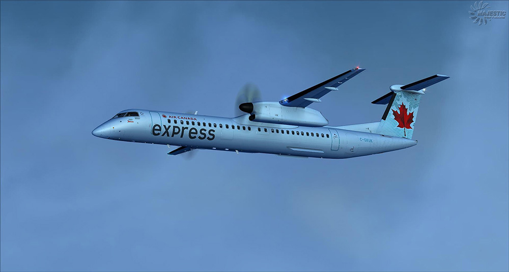 Majestic Software - Dash 8 Q400 PILOT Edition for P3D V4/V5