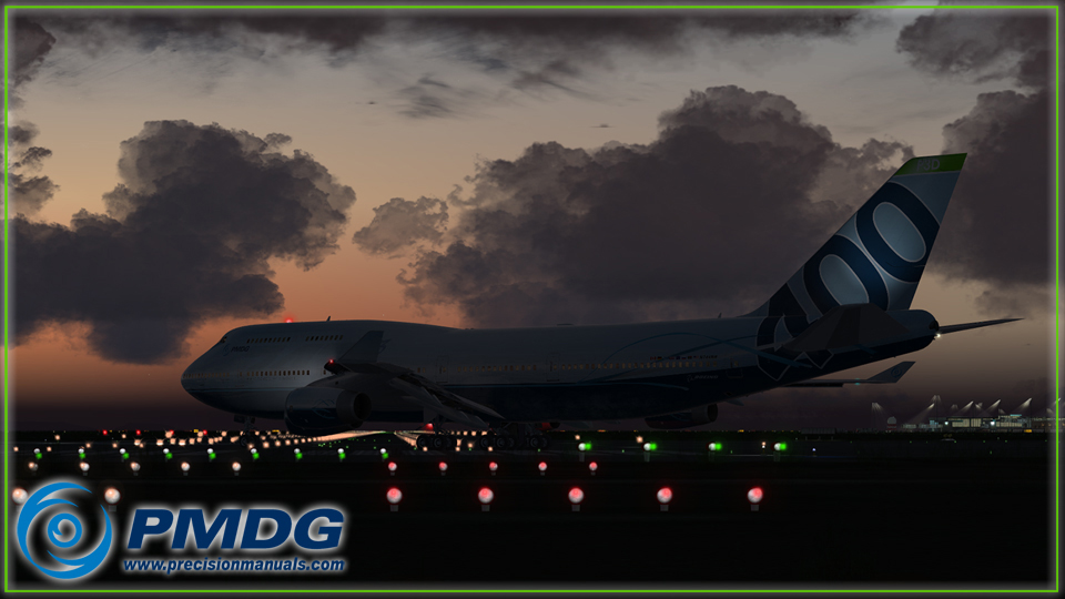 PMDG 747-400 V3 Queen of the Skies II for P3D