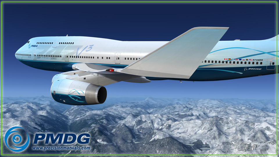 PMDG 747-400 V3 Queen of the Skies II for P3D V4