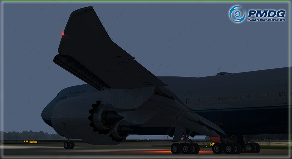PMDG 747-8 Queen of the Skies II Expansion Pack for P3D V4