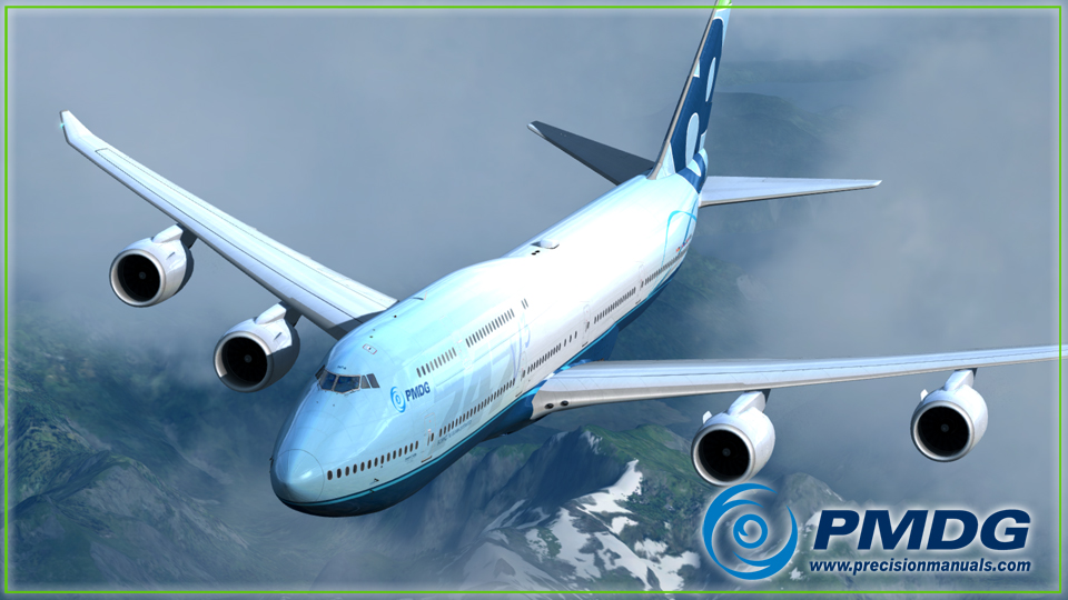 PMDG 747-8 Queen of the Skies II Expansion Pack for P3D
