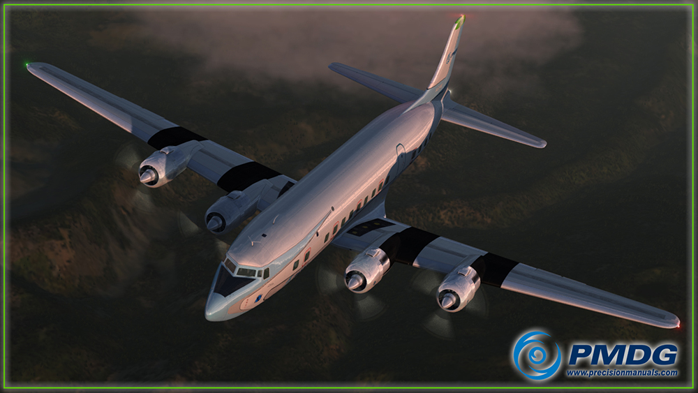 PMDG Douglas DC-6 Cloudmaster for P3D V4 | Aerosoft US Shop