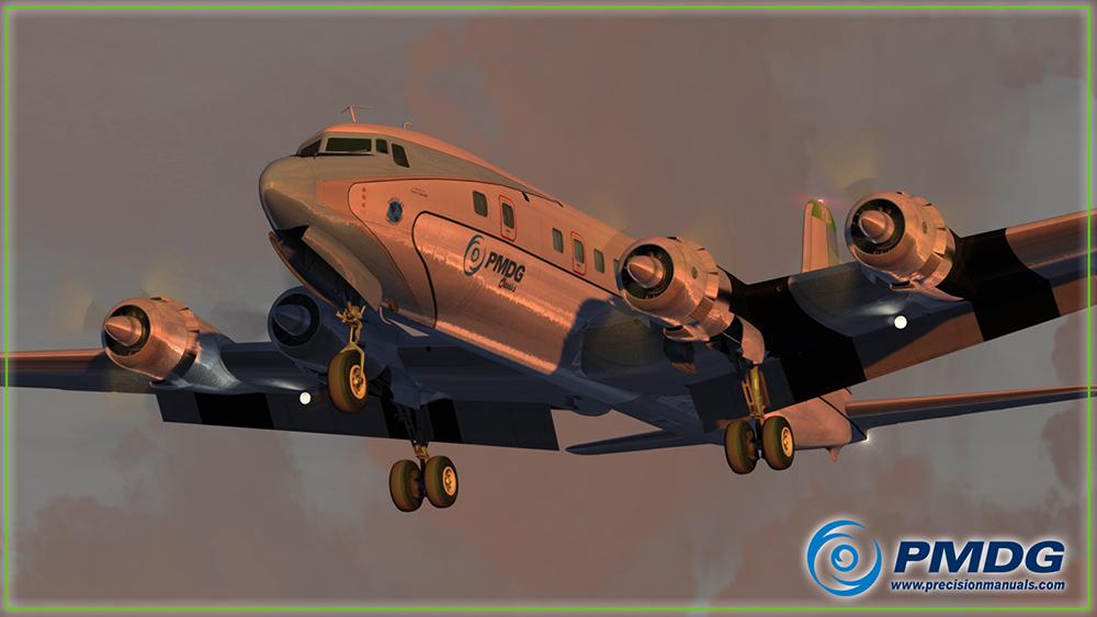 PMDG Douglas DC-6 Cloudmaster for P3D V4