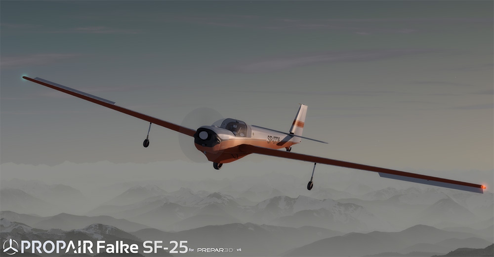 Propair Flight - Scheibe Falke SF25