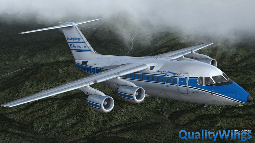 QualityWings - The Ultimate 146 Collection (P3D V4)