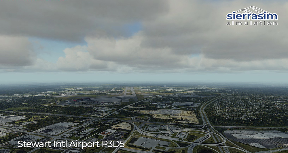 KSWF - New York Stewart International Airport P3D V4/V5