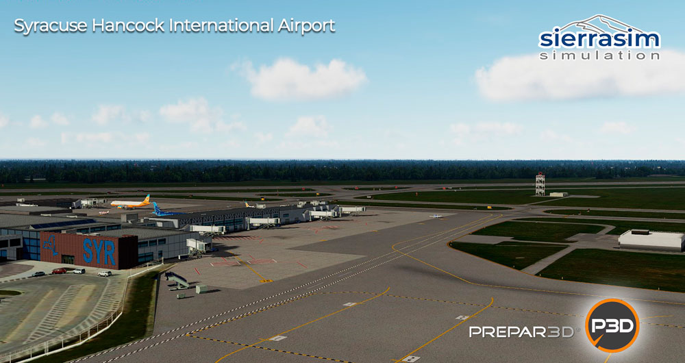 KSYR - Syracuse Hancock International Airport P3D