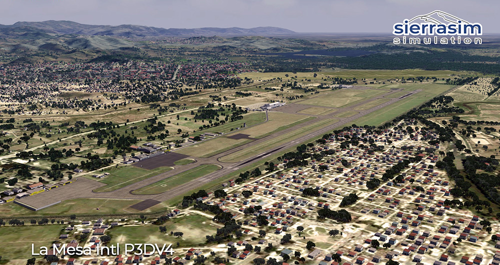 MHLM - La Mesa International Airport P3D V4
