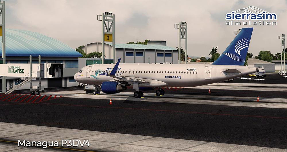 MNMG - Augusto C. Sandino International Airport P3D V4