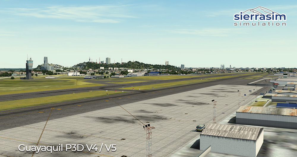 SEGU - Jose Joaquin de Olmedo International Airport P3D V4/V5