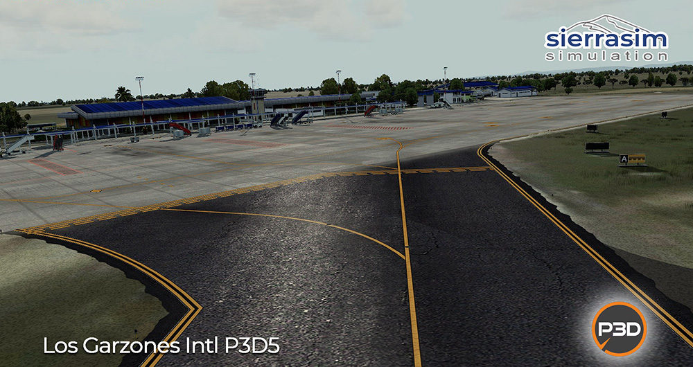 SKMR - Los Garzones International Airport P3D V4/V5