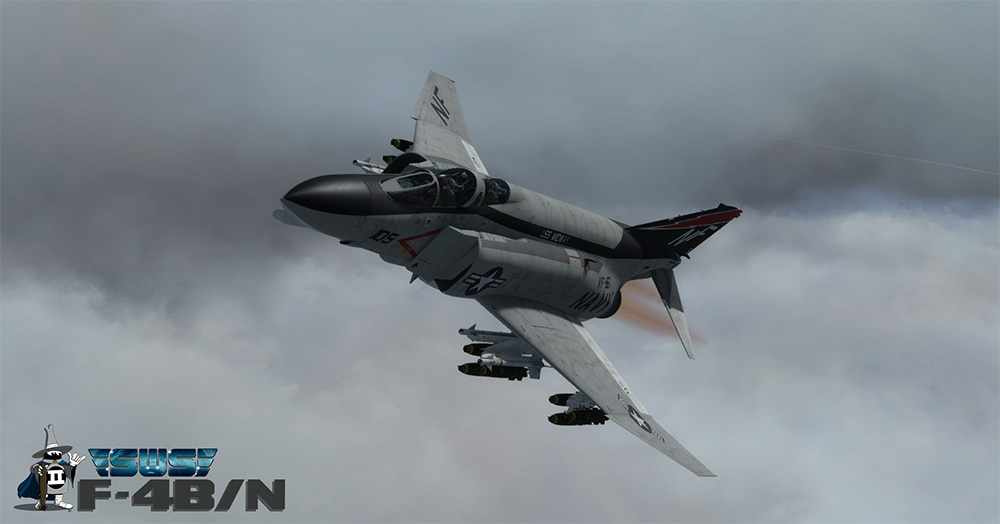SimWorks Studios - F4-B Phantom II PBR for P3D V4
