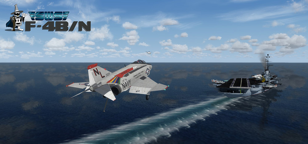 SimWorks Studios - F4-B Phantom II PBR for P3D