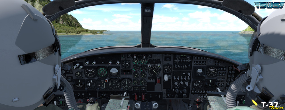 SimWorks Studios - T-37B Tweet for P3D V4