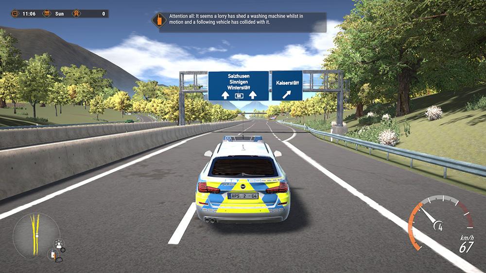 Ps4 Autobahn Police Simulator 2 Aerosoft Us Shop