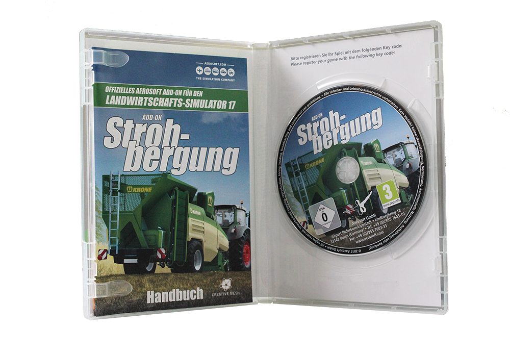 Aerosoft Selection - LS17 Add-on Strohbergung