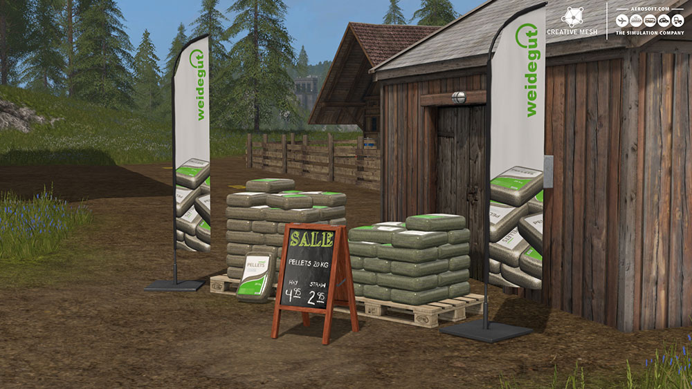 Farming Simulator 17 Add-on Récolte de paille