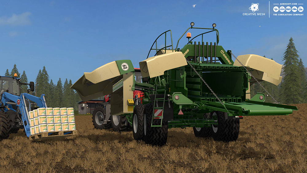 Farming Simulator 17 Add-on Straw Harvest