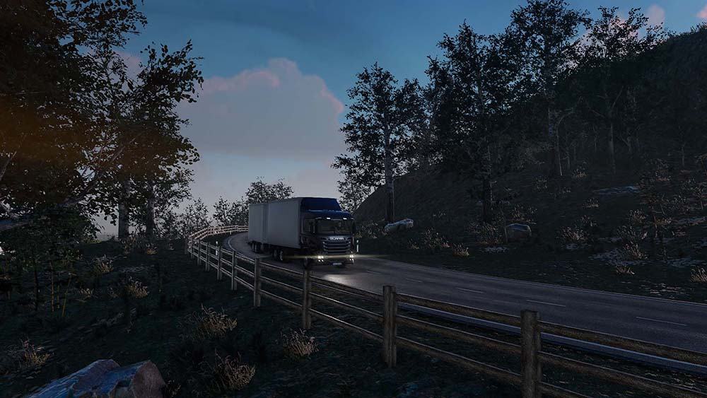 Truck & Logistics Simulator - Early Access version