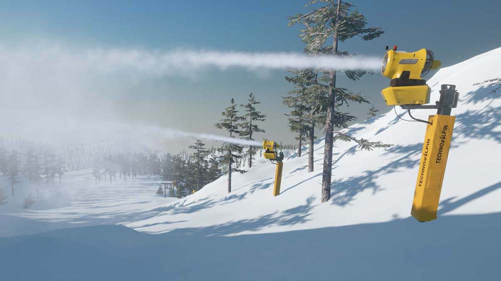 Winter Resort Simulator Add-on TechnoAlpin Pack