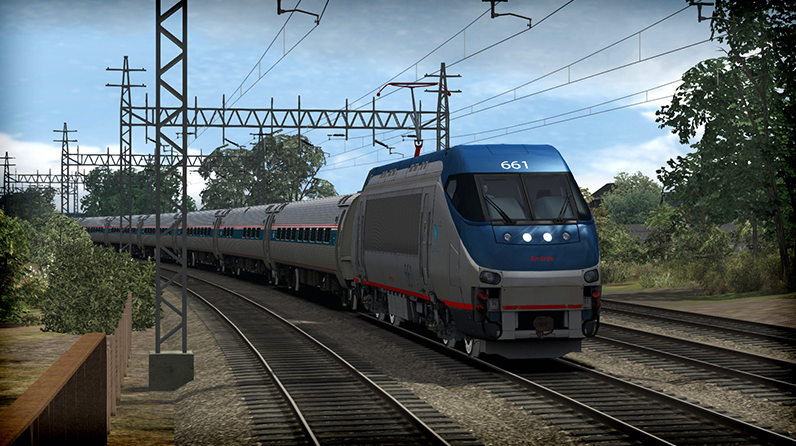 Amtrak HHP-8 Loco Add-On