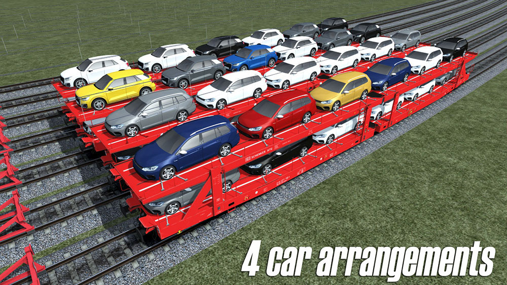 LAAERS - car transporter wagon