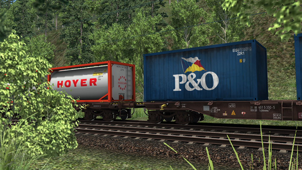 Railworks Downloadpack - Containerwagen Sgjkkmms