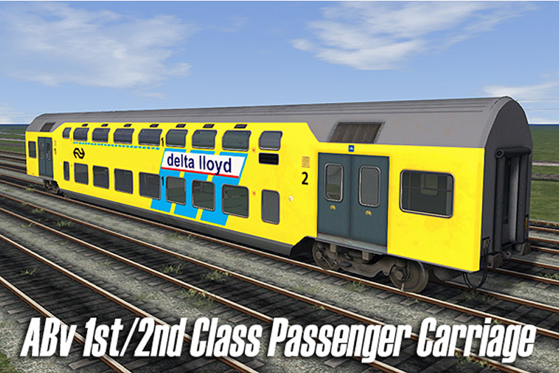DD-AR Passenger Train