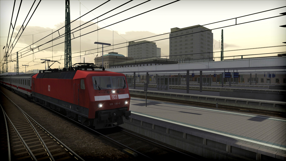 DB BR 120 Loco Add-On