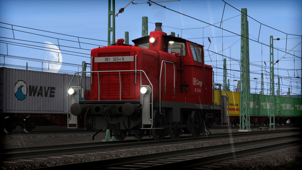 DB BR 361 Loco Add-On