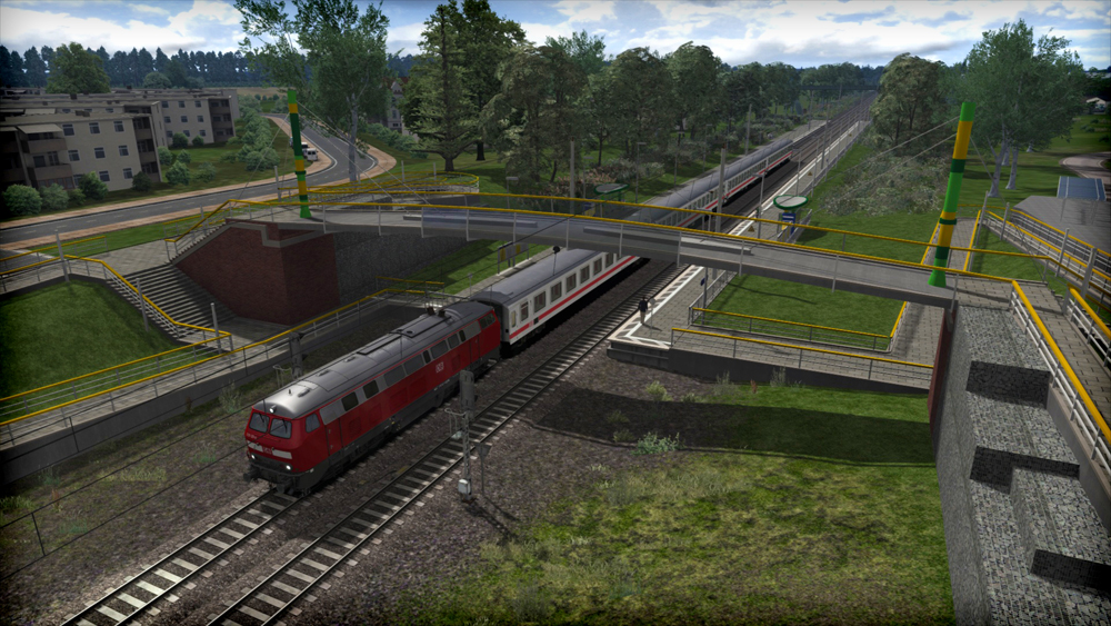 Hamburg-Lübeck Railway Route Add-On