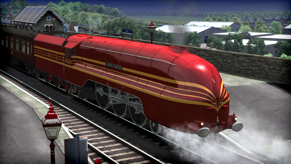 "LMS Coronation Class ""Duchess of Hamilton"" Loco Add-On"