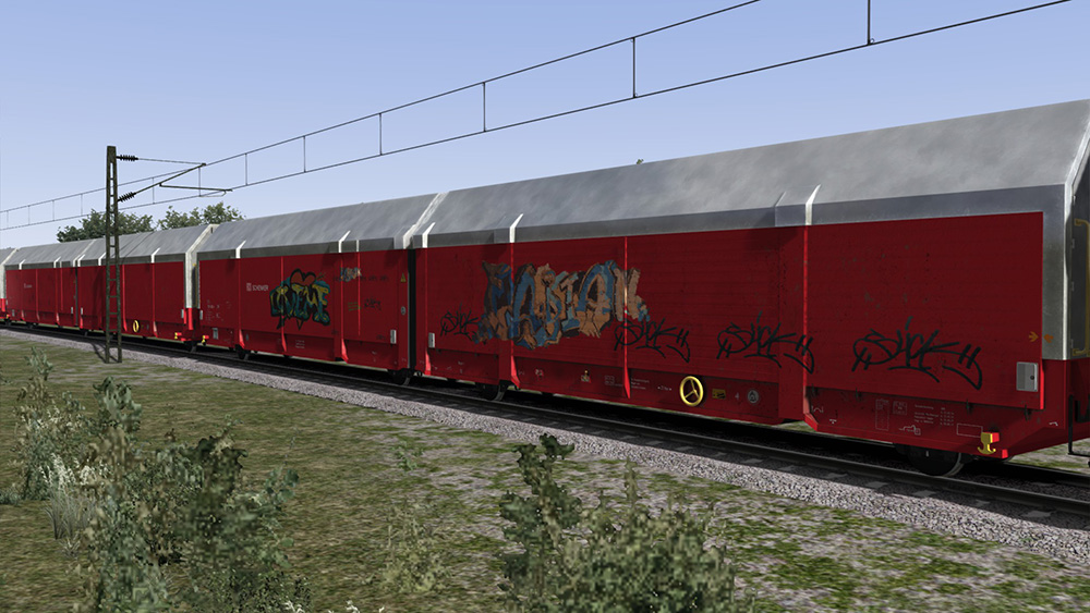 Railworks Downloadpack - Autotransporter Hccrrs