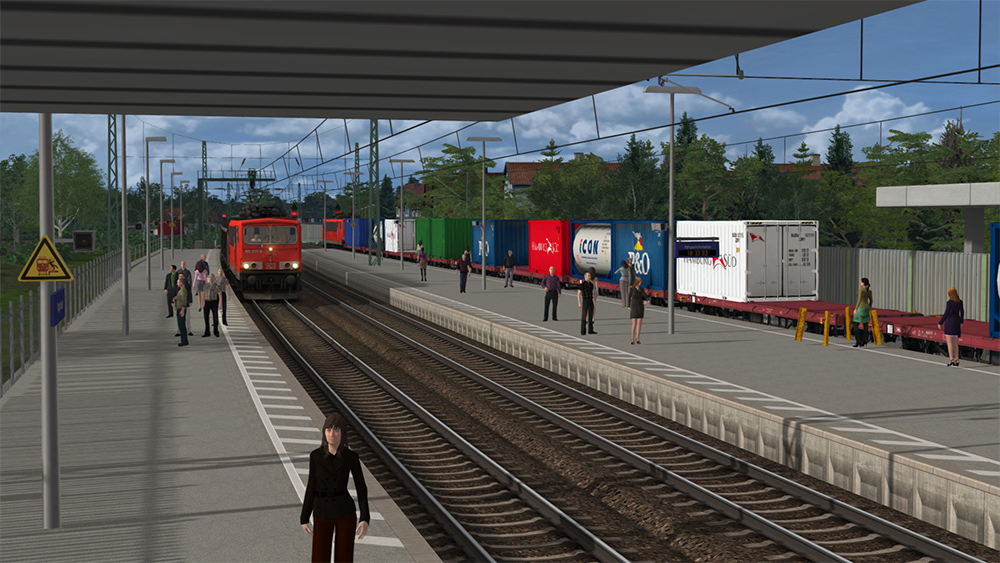 Railworks Downloadpack - Containerwagen Lgs 580 CE