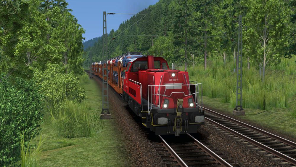 Railworks Downloadpack - Autotransporter Laaers