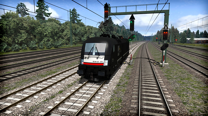 MRCE ES 64 U2 'Taurus' Loco Add-On