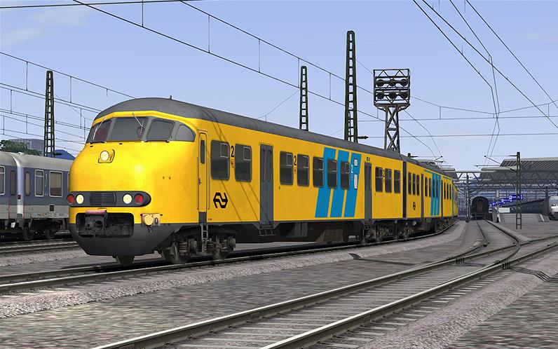 nederlandse spoorwegen mat 64 passenger train aerosoft shop. Black Bedroom Furniture Sets. Home Design Ideas