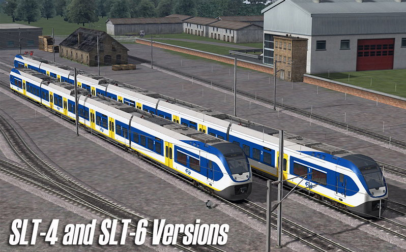 NS - SLT Sprinter Electric Passenger Train